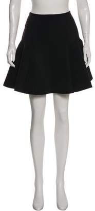 Lanvin Neoprene Mini Skirt w/ Tags
