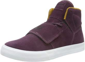 Supra Mens Rock Gold White Shoes