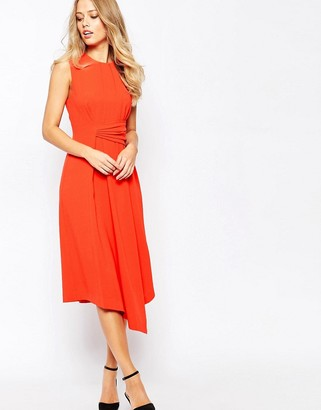 Whistles Marisa Draped Dress $269 thestylecure.com
