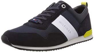 f35520eaa Tommy Hilfiger Men s Iconic Material Mix Runner Low-Top Sneakers