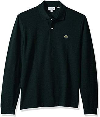 Lacoste Men's Long Sleeve Pique Classic Fit Chine Polo Shirt