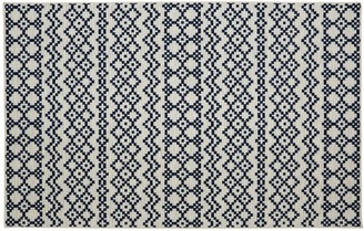 Blue Area Mohawk Home Aztec Bands Geometric Rug