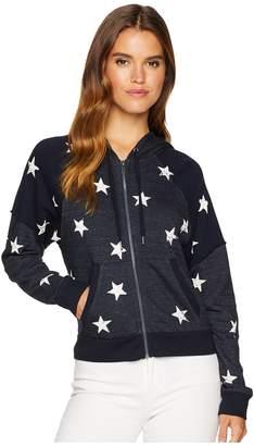 Splendid Star Zip Sweatshirt Women's Sweatshirt