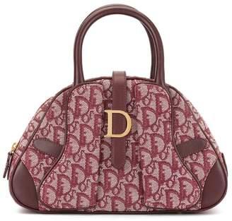 Christian Dior Pre-Owned Trotter pattern saddle hand bag
