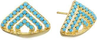 Noir Triangular Sedalife Stud Earrings