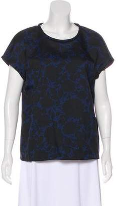 Marc by Marc Jacobs Printed Short Sleeve Top w/ Tags