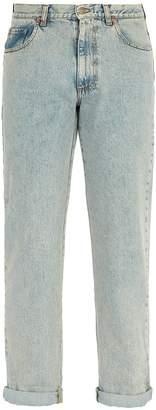 Gucci Logo-print straight-leg jeans