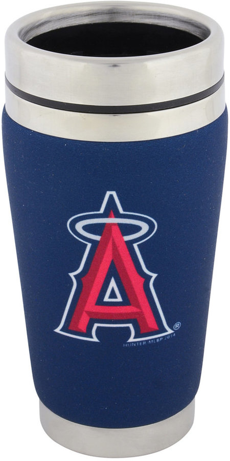 Hunter Manufacturing Los Angeles Angels of Anaheim 16 oz. Stainless Steel Travel Tumbler