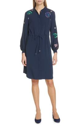 Ted Baker Dioss Embroidered Shirtdress