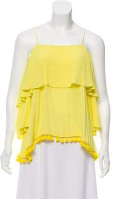 Alice + Olivia Off-The-Shoulder Blouse