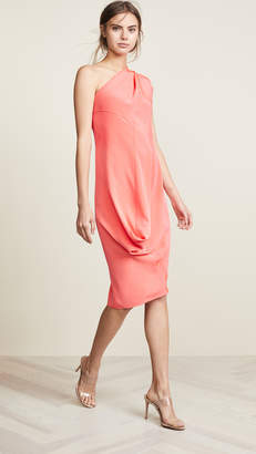 Zero Maria Cornejo One Shoulder Loop Dress