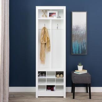 Prepac Space-Saving Entryway Storage Cabinet