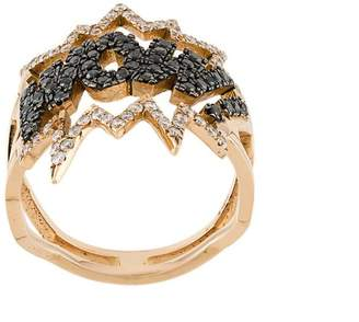 Diane Kordas WOW! diamond ring