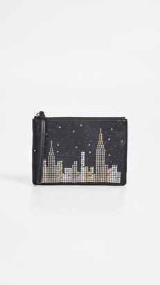 Kate Spade Glitzy Ritzy Skyline Small Willa Wallet