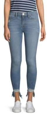 FRAME Le Skinny De Jeanne Stiletto Hem Jeans