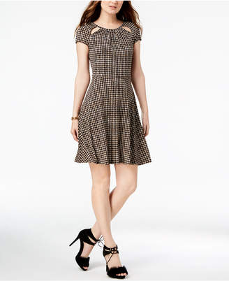 Michael Kors Printed Keyhole Dress, In Regular & Petite Sizes