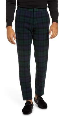 J.Crew Ludlow Black Watch Tartan Tuxedo Pants