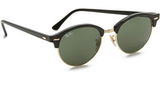 Ray-Ban Round Clubmaster Sunglasses $160 thestylecure.com