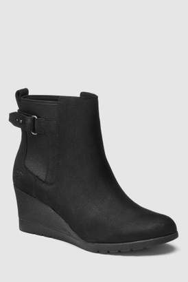 Next Womens UGG Indra Buckle Wedge Ankle Boot