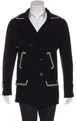 Chanel Sport Double-Breasted Wool Coat