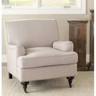 Charlton Home Linen Armchair