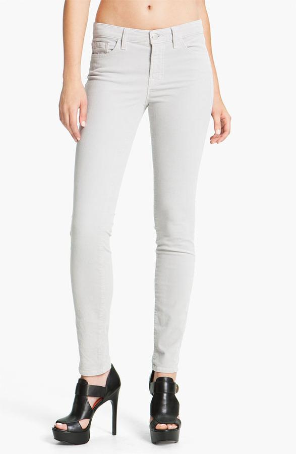 J Brand Skinny Stretch Corduroy Pants