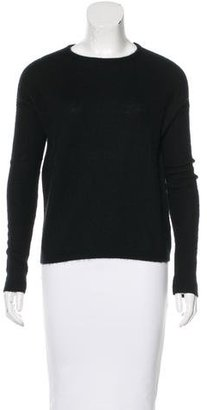 Brochu Walker Crew Neck Cashmere Sweater $150 thestylecure.com