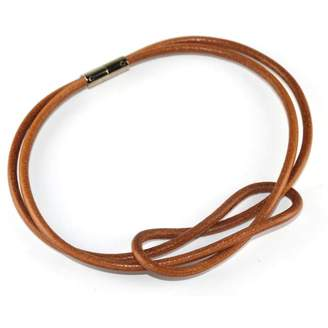Hermes Atamé leather necklace