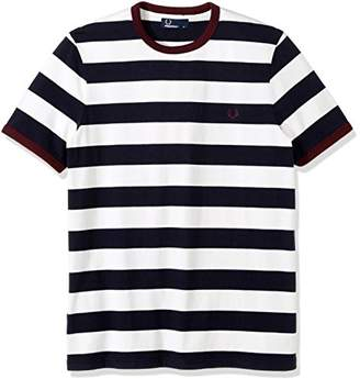 Fred Perry Men's Striped Ringer T-Shirt