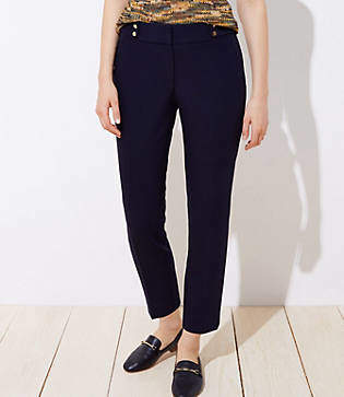 LOFT Tall Stud Tab Slim Pencil Pants in Julie Fit