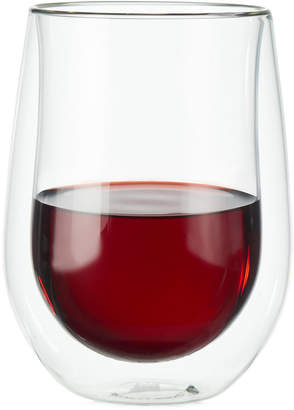 Zwilling J.A. Henckels Zwilling Sorrento Double Wall Stemless Red Wine Glasses, Set of 2