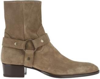 Saint Laurent Wyatt Ring Boot