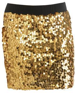 Paillette Mini Skirt
