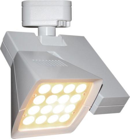 WAC Lighting LEDme White Logos 40 Watt Track Luminaire