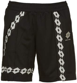 Damir Doma Repeated Logo Shorts
