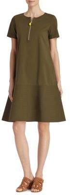 Lafayette 148 New York Vinita Solid Flared Dress