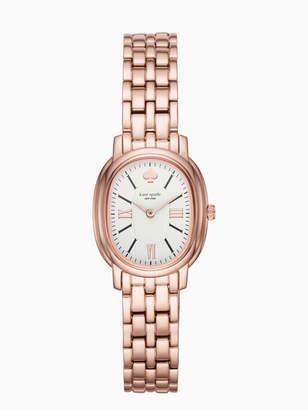 Kate Spade rose gold-tone staten watch