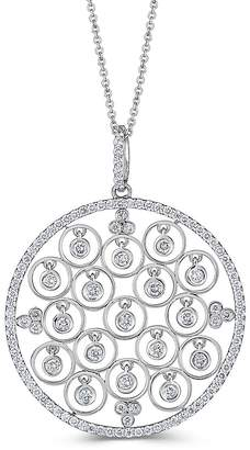 Saks Fifth Avenue Women's Dancing Diamond and 14K White Gold Pendant Necklace