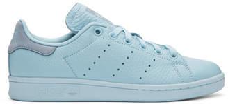 adidas x Pharrell Williams Blue Stan Smith Sneakers