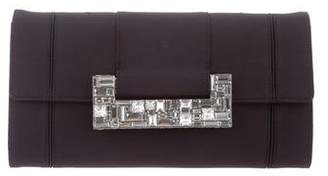 Judith Leiber Crystal-Embellished Flap Clutch
