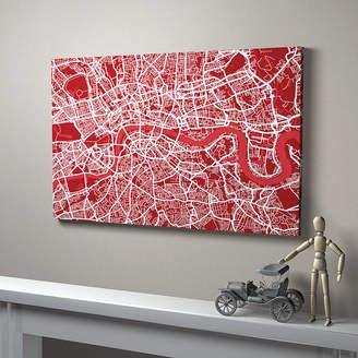 artPause London Street Map Art Print