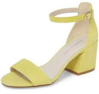 Kenneth Cole New York Yellow Suede Heel