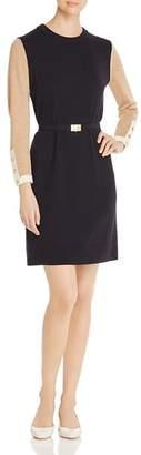 Tory Burch Kendra Color-Block Knit Dress