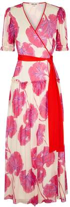 Diane von Furstenberg Breeze Floral-print Silk Maxi Dress