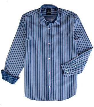 Boy's Tailorbyrd Lake Murray Stripe Dress Shirt $49.50 thestylecure.com