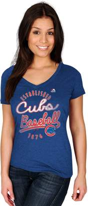 Majestic Women's Chicago Cubs Game Fanatic Tee