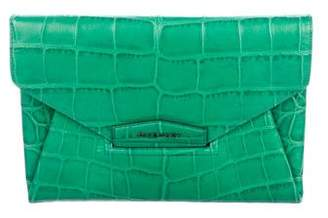 Givenchy Embossed Antigona Clutch