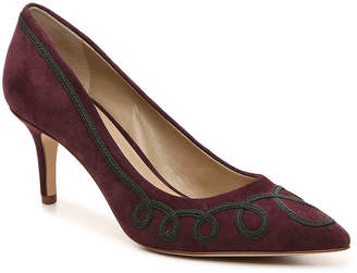 Women's Debria Pump -Burgundy $98 thestylecure.com