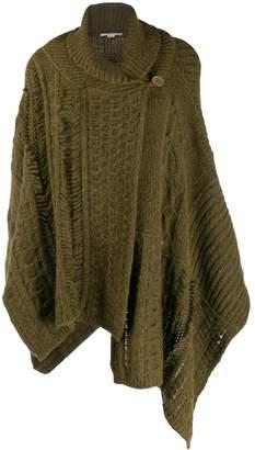 Stella McCartney chunky-knit shawl cardigan