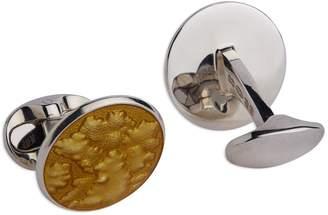 Deakin & Francis Sterling Silver Molten Cufflinks